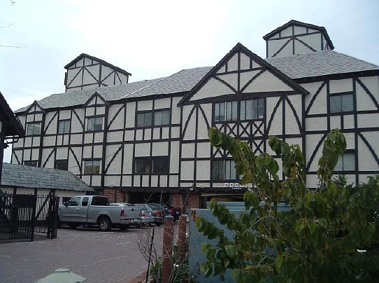 Tudor office building at 20631 Ventura Blvd. in Woodland Hills.