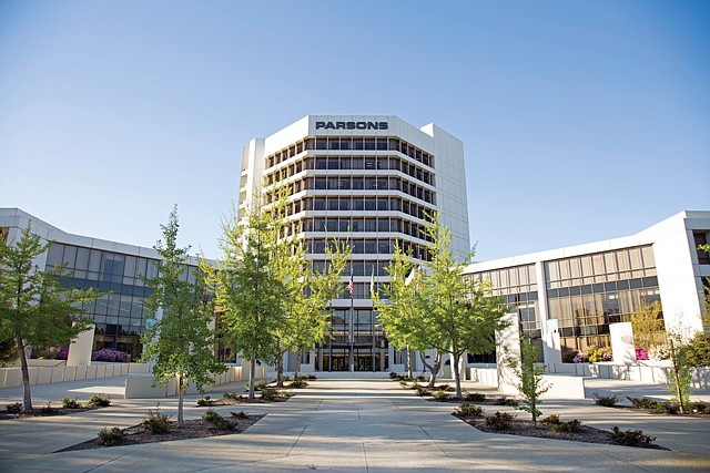 Going Public: Parsons' Pasadena offices, its former headquarters.