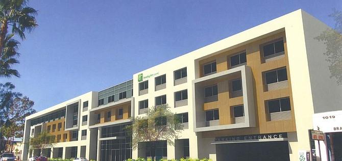 Rendering of Holiday Inn hotel in Glendale.