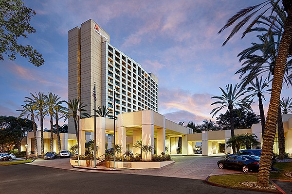 The Marriott Mission Valley has 353 rooms. Photo courtesy of Driftwood Acquisitions