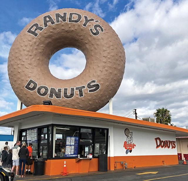 L.A. Icon: Randy's franchises will incorporate smaller doughnut replicas.
