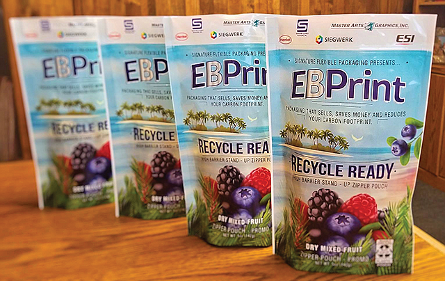 "Eco Focus: Signature Flexible Packaging Inc. is designing ""recycle ready"" food packaging."