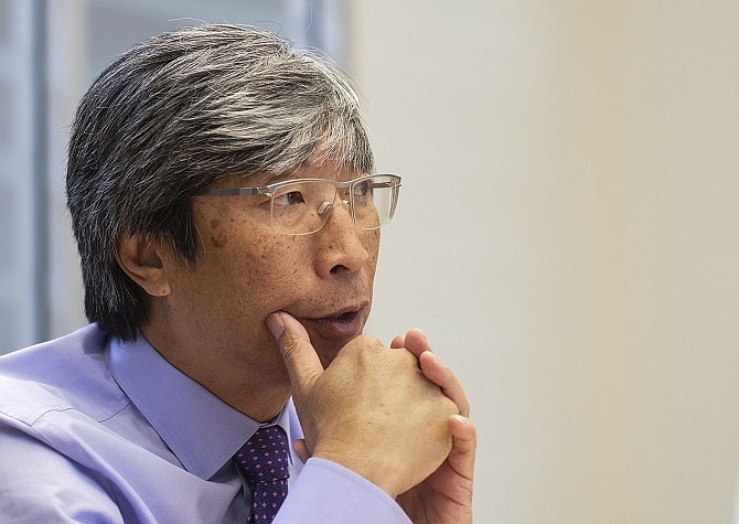 Patrick Soon-Shiong (photo by Ringo H.W. Chiu)