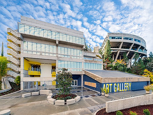 A vintage building that has been used for science classes and administrative offices at Mesa College has been transformed into fine arts center. Photo courtesy of Padilla Bowen Photography