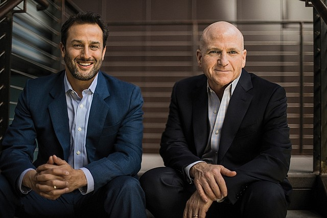 Investment Opportunity: Robert Lindner (left), John Carrick launch a real estate fund.