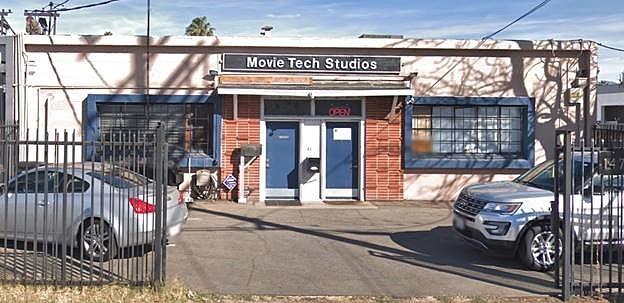 Movie Tech Studios at 14737 Arminta St. in Van Nuys.