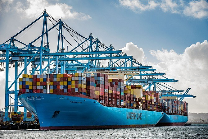 APM Terminals at the Port of Los Angeles