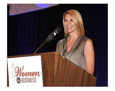 Lisa Bhathal Merage at 2015 OCBJ Event