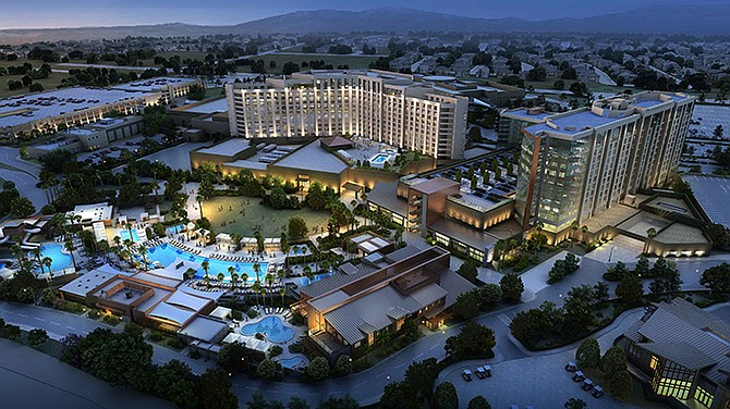 Delawie first worked with the Pechanga Resort and Casino in 2002 and, most recently, on its $300 million expansion and revamp that wrapped up in 2018. Photo courtesy of Delawie