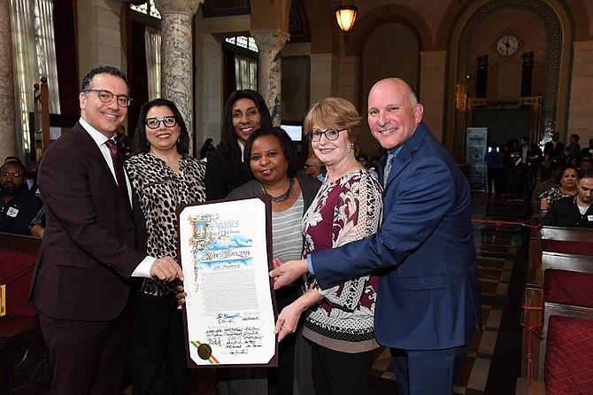 L.A. City Council recognizes New Horizons.