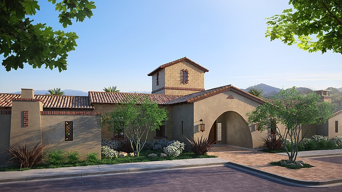 Rendering of the planned Deerlake Ranch Canyon Club north of the 118 freeway and adjacent to Porter Ranch.
