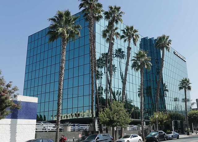 Home No More: Former HQ of CBS Employees Federal Credit Union in Studio City.