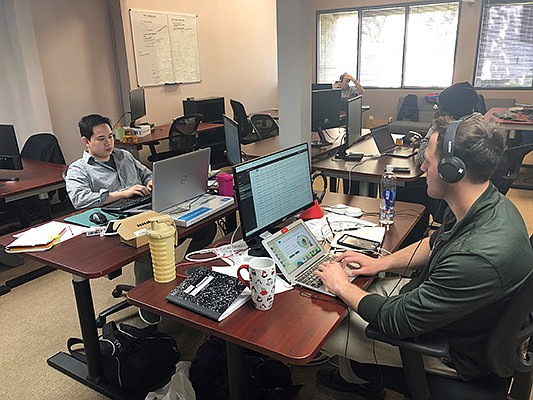 Perspectium's employees work out of its offices in Rancho Bernardo. The company was started in 2013 by former ServiceNow executive David Loo. Photo courtesy of Perspectium