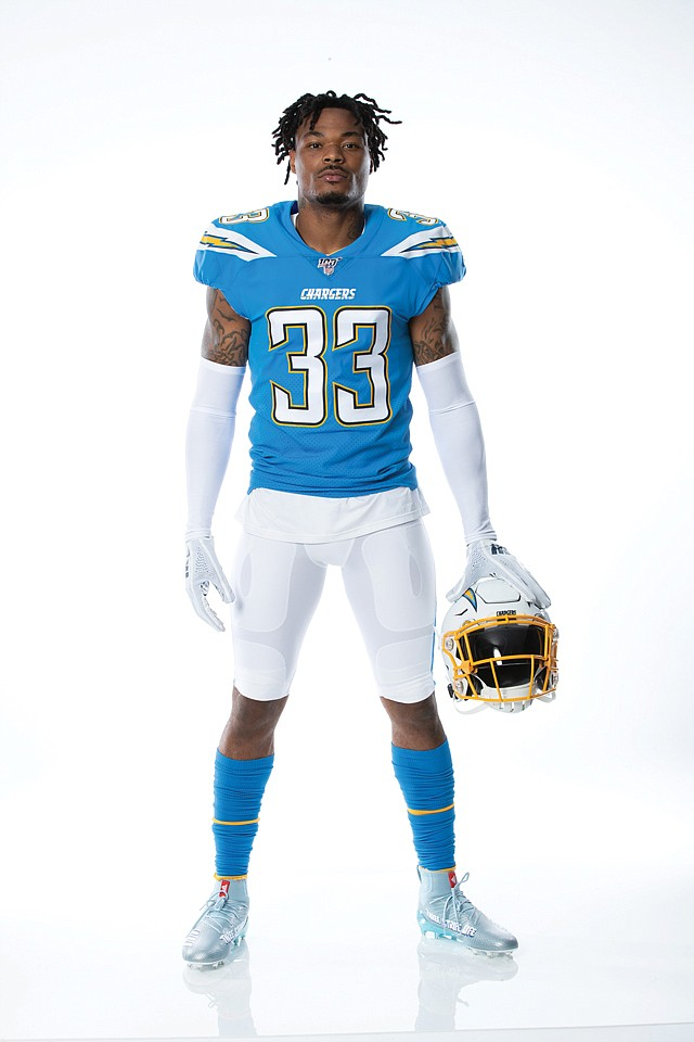 Fan Favorite: The Chargers announced the return of its powder blue jerseys.