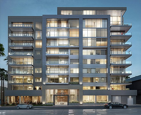 41West is the latest addition to high-end condominium developments in Bankers Hill. Rendering courtesy of 41West
