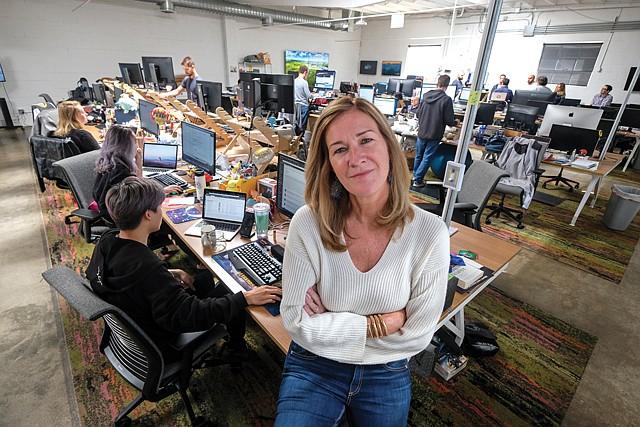 Mainstream Push: Super League CEO Ann Hand took esports company public.