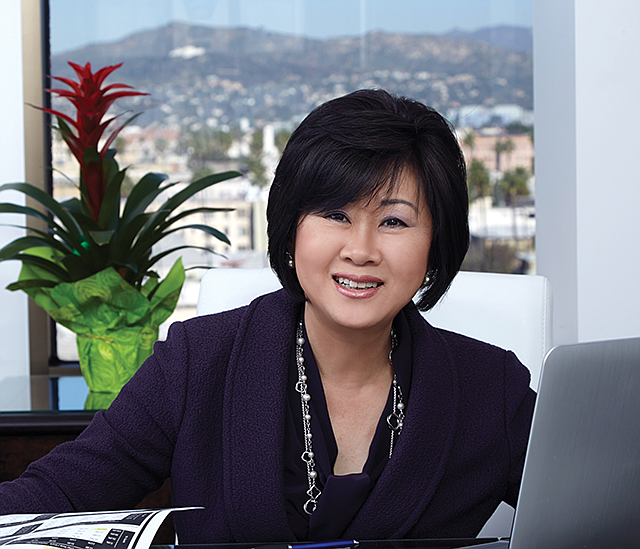 Falling Profits: Joanne Kim's CBB Bancorp saw a 14% drop in first quarter earnings.