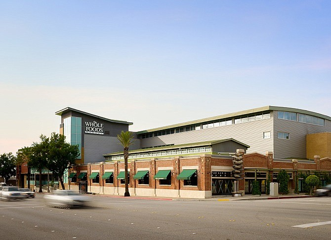 The Whole Foods on Arroyo Parkway in Pasadena