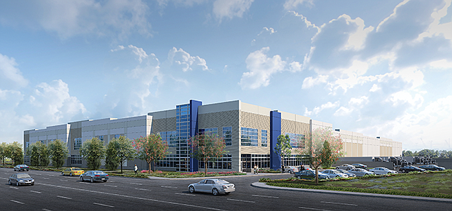 Big Buildout: Xebec's Santa Fe Springs logistics center spans 234,000 square feet.