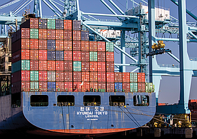 Curtailing Cargo: Tariffs could shake up import and export volumes at the SoCal ports.