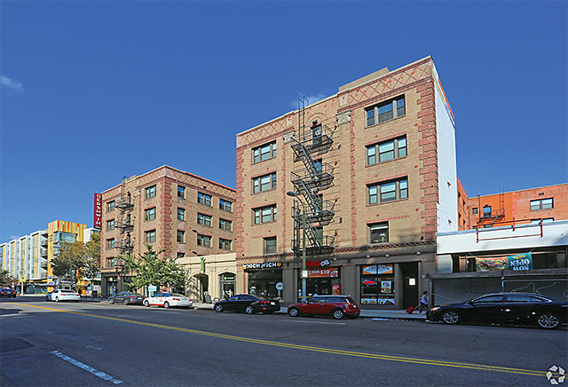 Vintage Charm: Century-old hotel building now contains 172 residential units.