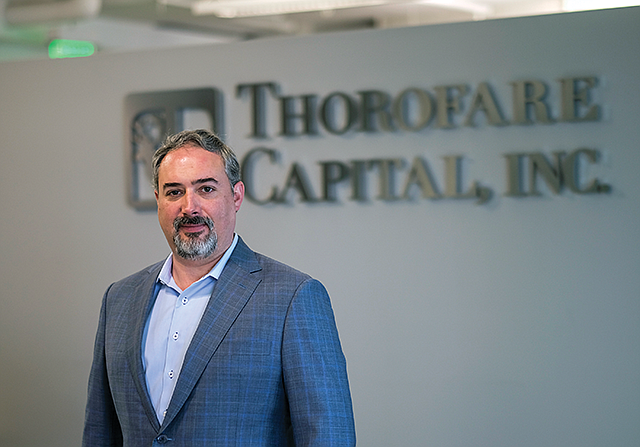 Bank Beater: Brendan Miller's Thorofare Capital has originated almost $2B in loans.