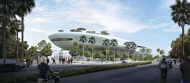 A Force for Good: The $1 billion Lucas Museum of Narrative Art, under construction in Exposition Park, is due to be completed by 2021.