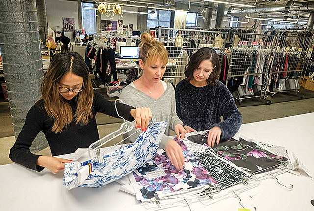 Fitting In: TechStyle sells fast-fashion apparel through an online subscription model.