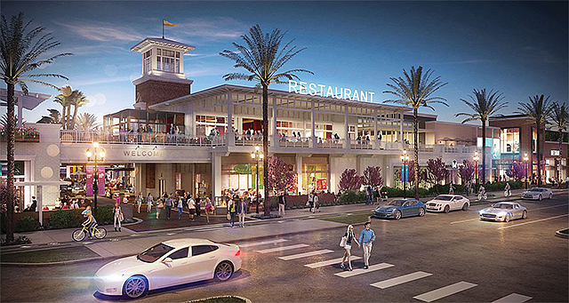 Beach Bouyed: 2nd & PCH shopping center is scheduled to open this fall.