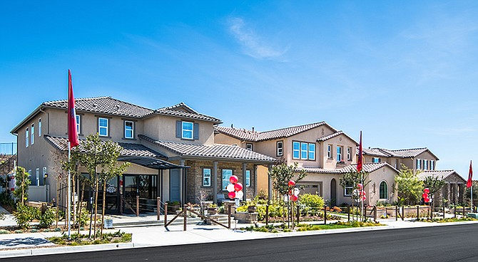 Signature by Heritage Building & Development is one of many housing communities in Otay Ranch. Photo Courtesy of Baldwin & Sons