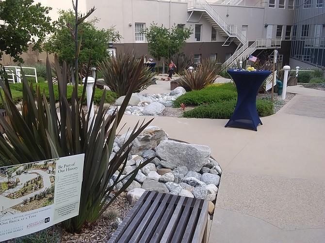 Ventura County Medical Center's Healing Garden in Ventura.