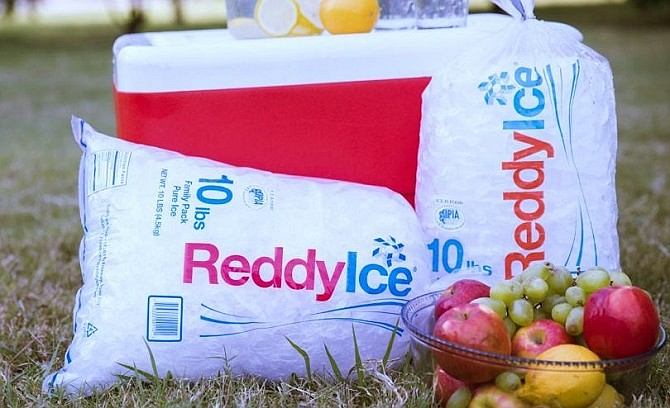 A portion of $1.8 billion capital raised to pay for Reddy Ice acquisition.