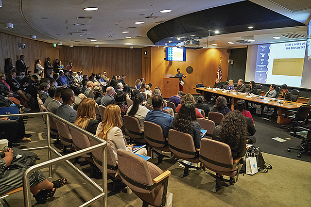 On the Job: Airport and LAUSD officials present their initiative for LAX.