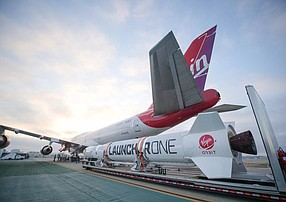 Virgin Orbit's LauncherOne Craft