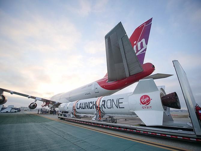 Virgin Orbit's LauncherOne Craft