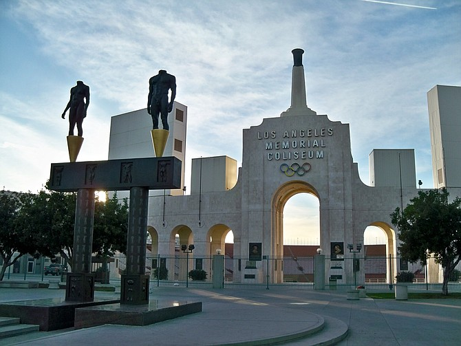Under new naming rights deal, fabled sports venue is now United Airlines Field at Los Angeles Memorial Coliseum.