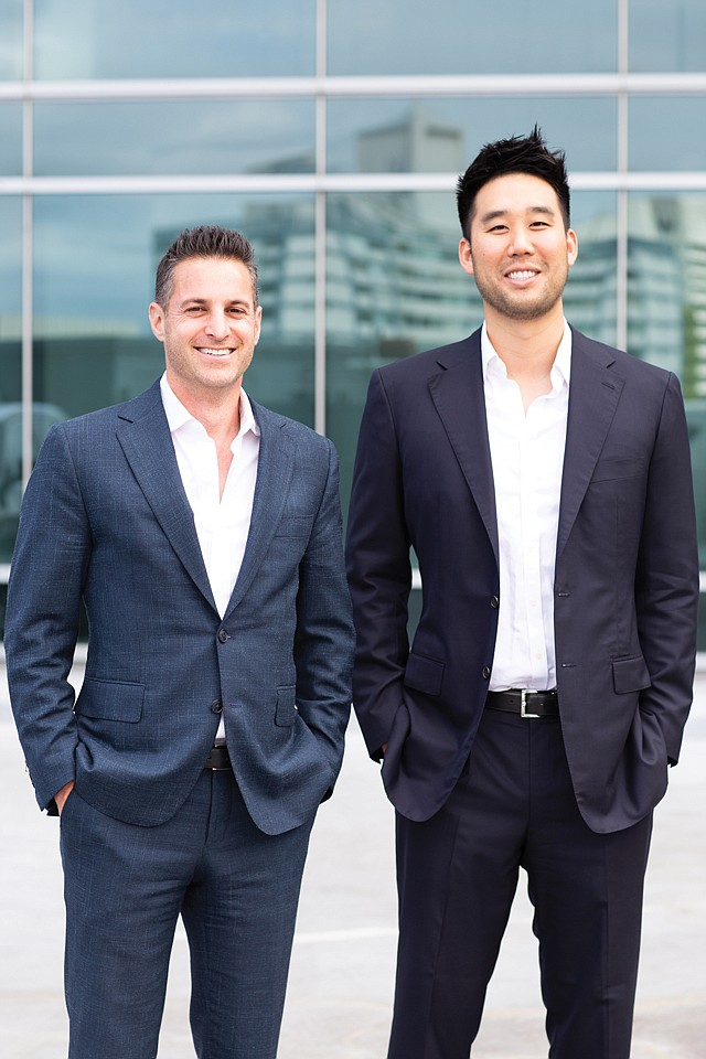 First Fund: Diversis Capital co-founders Ron Nayot (left) and Kevin Ma.