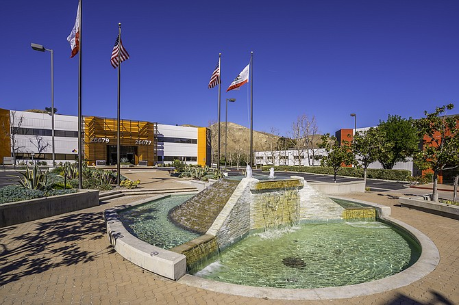 Corporate Center Calabasas at 26565-26709 Agoura Road in Calabasas.