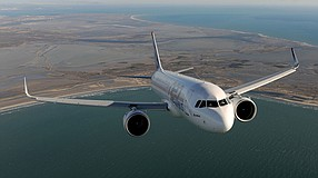The United Technologies-Raytheon merger will include the Chula Vista jet engine nacelle business of Collins Aerospace. The business just made a milestone delivery for Airbus A320neo aircraft. Photo courtesy of Collins Aerospace.