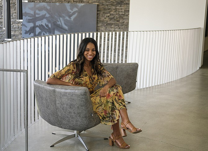 Alyssa Lanz, TV literary agent at United Talent Agency.