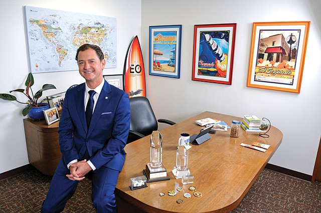 Beach Boy: El Segundo Mayor Drew Boyles balances his love for the city with his passion for surfing.