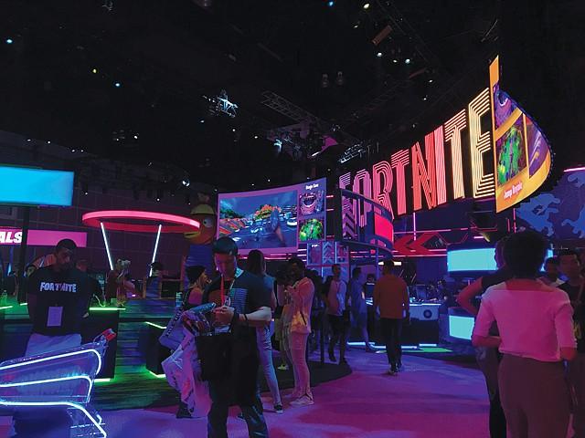 "Bright Lights: ""Fortnite"" distributor Epic Games expands E3 presence."