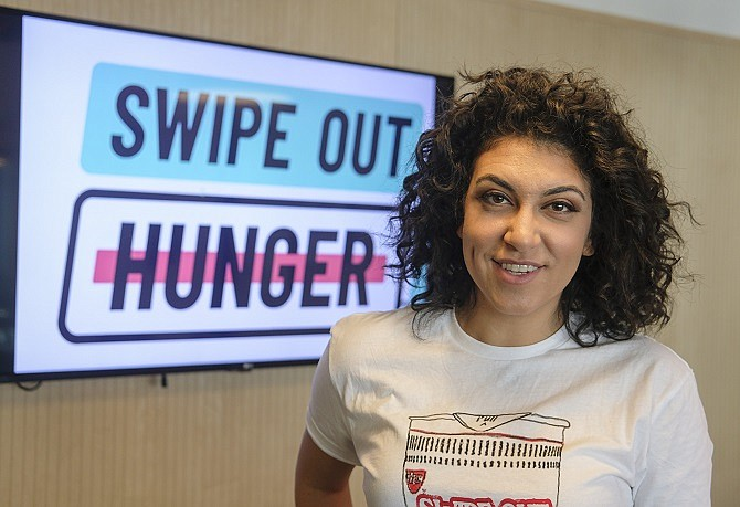 Rachel Sumekh, chief executive and founder of Swipe Out Hunger.