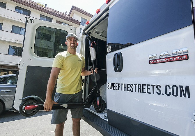 Rich Branning, chief executive and co-founder of Sweep Inc.