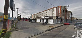 Current structures would be razed at 11410-11420 W. Burbank Blvd. in North Hollywood.
