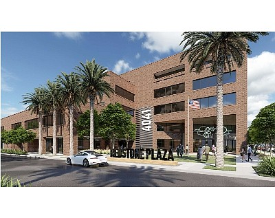 Redstone rendering: Lincoln Property Co. coworking site