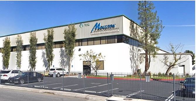 Warehouse at 7850 Ruffner Ave. in Van Nuys.