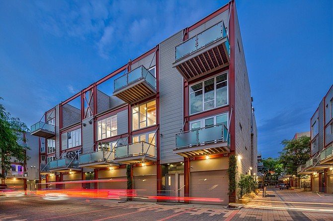 The Enclave on 3450 Cahuenga Blvd. in Studio City.