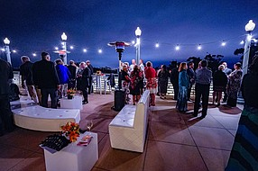 The San Diego Natural History Museum in Balboa Park is celebrating 145 years this year, but it wasn't until two years ago that it began intentionally hosting and heavily promoting events on its 2,600 square foot rooftop. Photo courtesy of the San Diego Natural History Museum.
