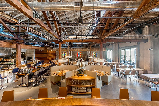 While testing has been done with McDonald's so far, San Diego's Juniper & Ivy signed on as a partner with Uber Elevate in May. Photo courtesy of Juniper & Ivy.